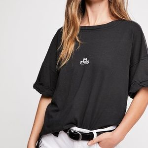 NWT Free People Love You Oversize Tee Size: Large